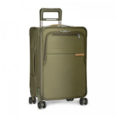Baseline 22` Domestic Carry-On Expandable Luggage Spinner (Olive) U122CXSP-7