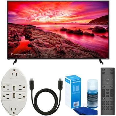 E80-E3 E-Series 80` LED SmartCast UltraHDTV + USB Wall Outlet & Accessory Bundle