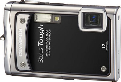 Stylus Tough 8000 12MP 2.7` LCD Digital Camera (Black) - Refurbished