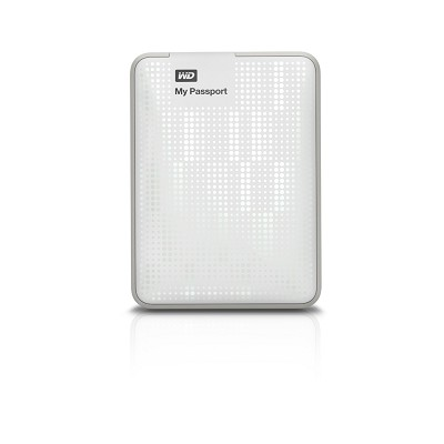 My Passport 500 GB USB 3.0 Portable Hard Drive - WDBKXH5000AWT-NESN  (White)