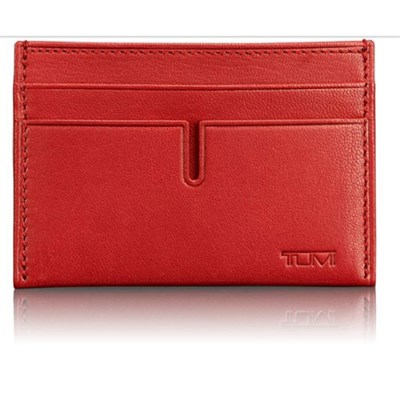 Slim Card Case (Sienna Red) -  027302SRD