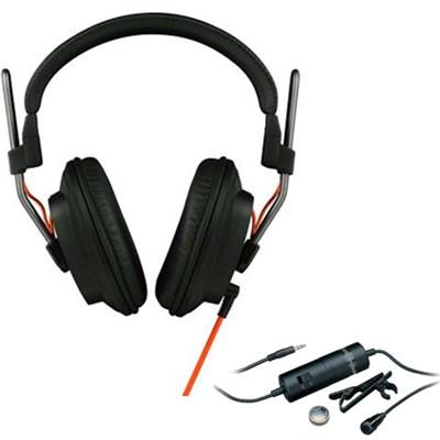Professional Studio Headphones - T50RPMK3 with Audio-Technica Clip On Microphone