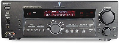 STR-DE1075 A/V Receiver with Dolby Digital, DTS, and 6.1 Decoding