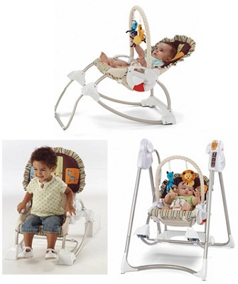 Smart Stages 3-in-1 Rocker Swing