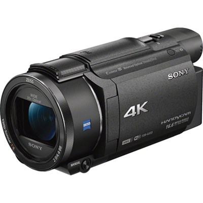 FDR-AX53/B 4K Handycam Camcorder with Exmor R CMOS Sensor - OPEN BOX