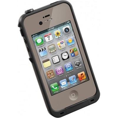 Waterproof Shockproof and Dirtproof iPhone Case for iPhone 4S/4- Dark Flat Earth