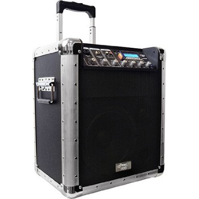 200 Watt Rechargeable Portable PA System with USB, SD, MP3 Inputs
