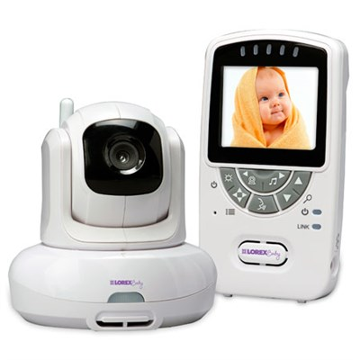 Sweet Peep Baby Video Monitor w/ Pan Tilt Zoom/Room Temperature Alert - OPEN BOX