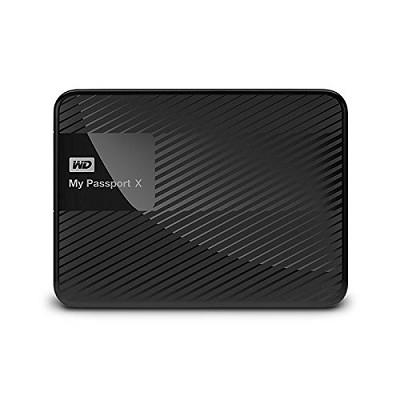 WD My Passport X 2TB portable gaming drive for Xbox One or PC (USB 3.0)