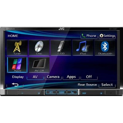 KWV40BT 7` Display Multimedia Receiver