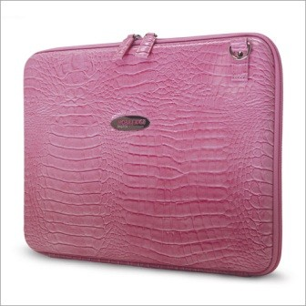 MEPFCX Techstyle portfolio pink computer case for Laptops up to 15.4`
