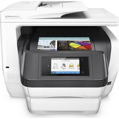 Officejet Pro 8740 Photo Wireless Inkjet Multifunction Printer