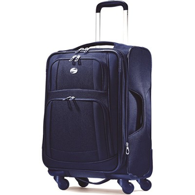 iLite Supreme 25 Inch Spinner Suitcase (Sapphire Blue)