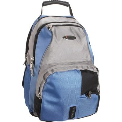 School BackPack - Blue/Gray