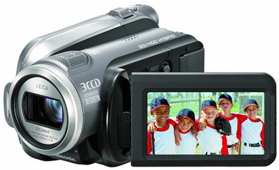 HDC-HS9 3CCD 60GB Hard Drive High Definition Hybrid Camcorder