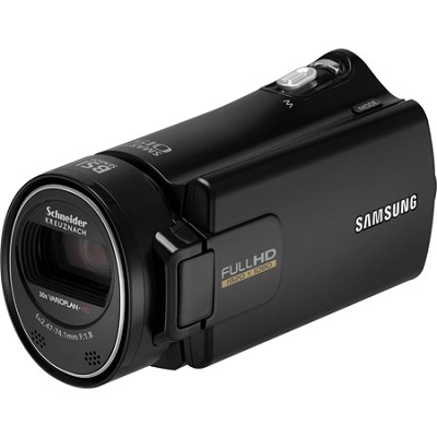 HMX-H304BN/XAA HD Camcorders with 30X Zoom and 16 GB Memory (Black)