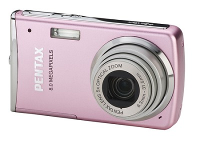 Optio M50 2.5` LCD 8.0 MP, 5x Zoom Digital Camera (Pink)