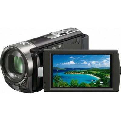 Handycam DCR-SX45 Palm-sized Black Camcorder
