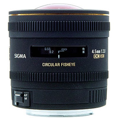 4.5mm F2.8 EX DC Circular Fisheye HSM For Nikon DSLRs