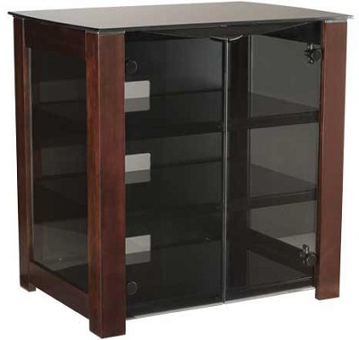 DFAV230CH - Designer Series 4-Shelf A/V Cabinet for TVs up to 37` (Chocolate)