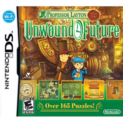 DS Professor Layton and the Unwound Future