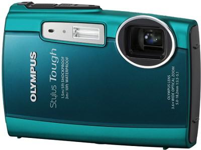 Stylus Tough 3000 Waterproof Shockproof Freezeproof Digital Camera (Green)