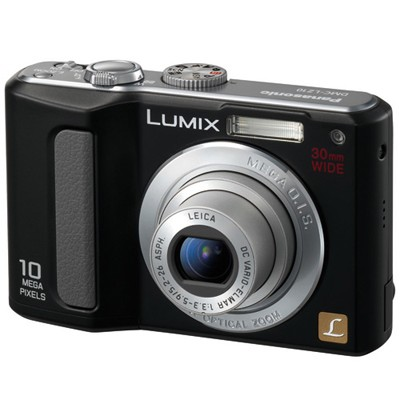 DMC-LZ10 (Black) Lumix 10 Megapixel Digital Camera w/ 5x Optical Zoom & 2.5` LCD