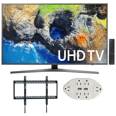 65` 4K Ultra HD Smart LED TV (2017 Model) w/ Wall Mount Bundle