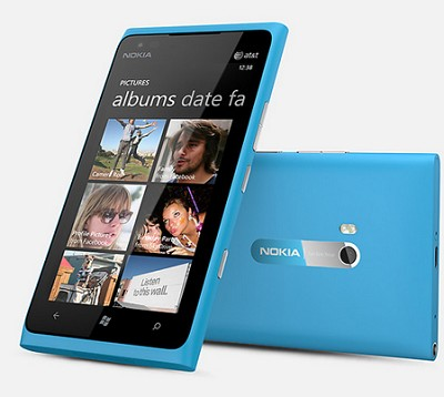 Lumia 900 16GB Blue Unlocked Smartphone Blue 4G AT&T or any GSM