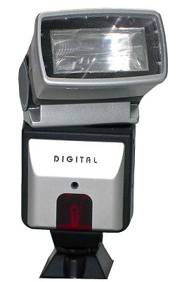 Bounce and Swivel Slave Flash for Digital Cameras