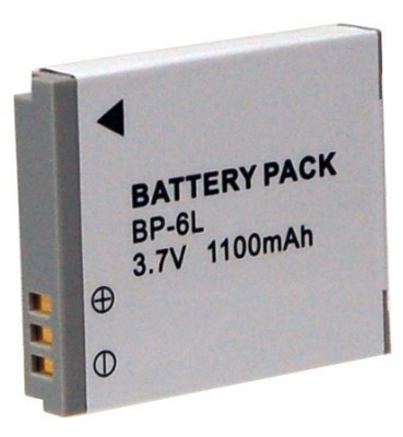 BP-6L 1100mah Battery Pack for S95,SD1300, SD980, SD3500, SD4000, D10