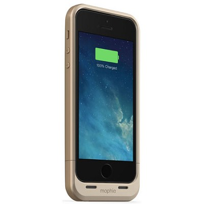 Juice Pack Air for iPhone 5s / 5 (1700mAh) Protective Battery Case - Gold