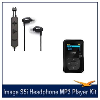Image S5i Headphone MP3 Player Bonus Pack