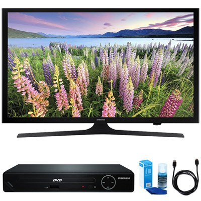 43-Inch Full HD 1080p Smart LED HDTV w/ HDMI DVD Player Bundle