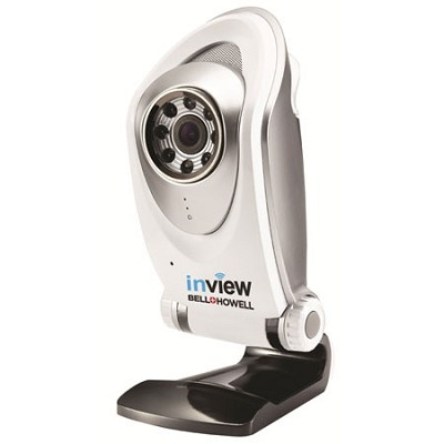 InView HD H.264 Tabletop Wi-Fi IP Camera Cloud Recording Night Vision C-IP105-W