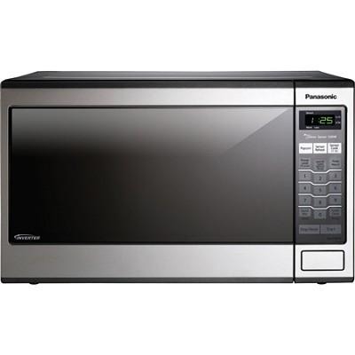 SN671S 1.2 Cubic Feet 1200 Watt Microwave Oven, Stainless Steel