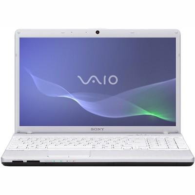 VAIO VPCEH23FX - 15.5 Inch Laptop Pentium B950 Processor (White)