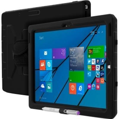 Multi-Layered Ultra Rugged Case Microsoft Surface Pro 3 - Black - OPEN BOX