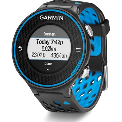 Forerunner 620 Black/Blue Bundle with Heart Rate Monitor