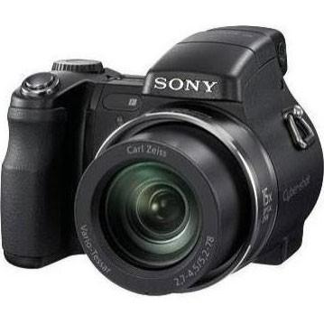 Cyber-shot DSC-H7 8.1 MP Digital Camera w/ 15x Optical Zoom (Black) - OPEN BOX