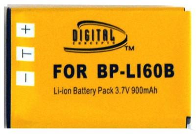900mAH Replacement Lithium Battery for Olympus Li-60B
