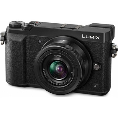 LUMIX GX85 4K Mirrorless Interchangeable Camera w/12-32mm Lens - Blk - OPEN BOX