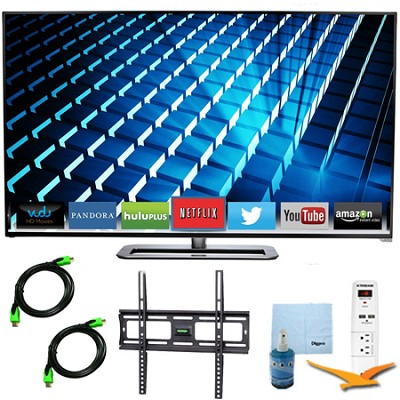 M552i-B - 55-inch LED Smart HDTV 1080p Full HD 240Hz Plus Mount & Hook-Up Bundle