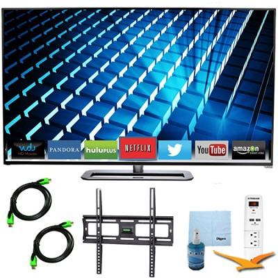 M552i-B - 55-inch LED Smart HDTV 1080p Full HD 240Hz Plus Mount & Hook-Up Bundle