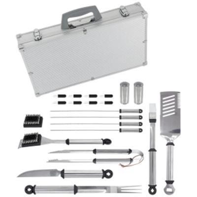 21-Piece Silver PrestigeTM Stainless Steel Tool Set - 02066X