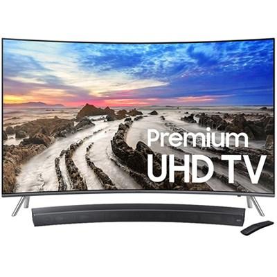 55` UN55MU8500 Curved 4K Ultra HD Smart LED TV + HW-MS6500/ZA Sound+ Soundbar