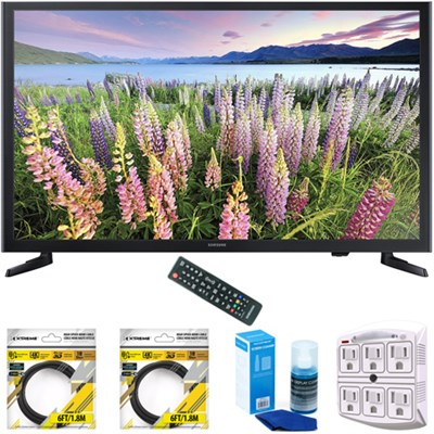 32-Inch Full HD 1080p LED HDTV 2015 Model UN32J5003 with Cleaning Bundle