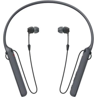 WIC400/B Wireless Behind-Neck In Ear Headphone, Black