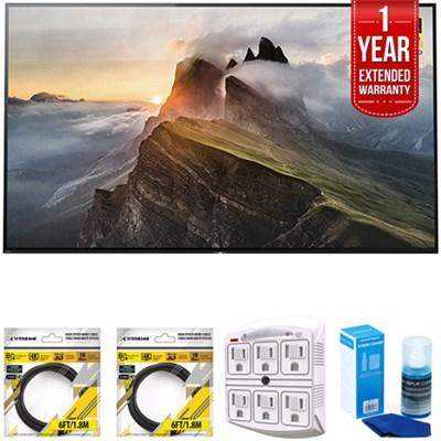 55` 4K Ultra HD Smart Bravia OLED TV 2017 Model with Extended Warranty Kit