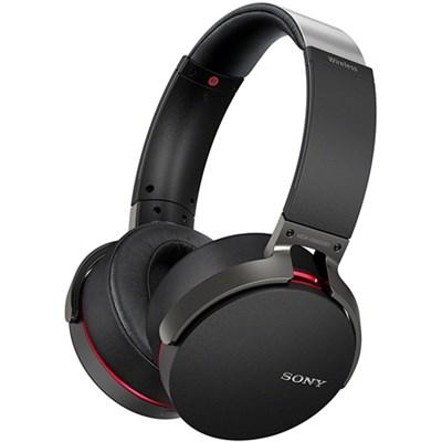 Extra Bass Wireless Headphones w/App Control, Black (2017 model) - OPEN BOX